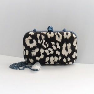 NWOT Juicy Couture Animal Print Clutch